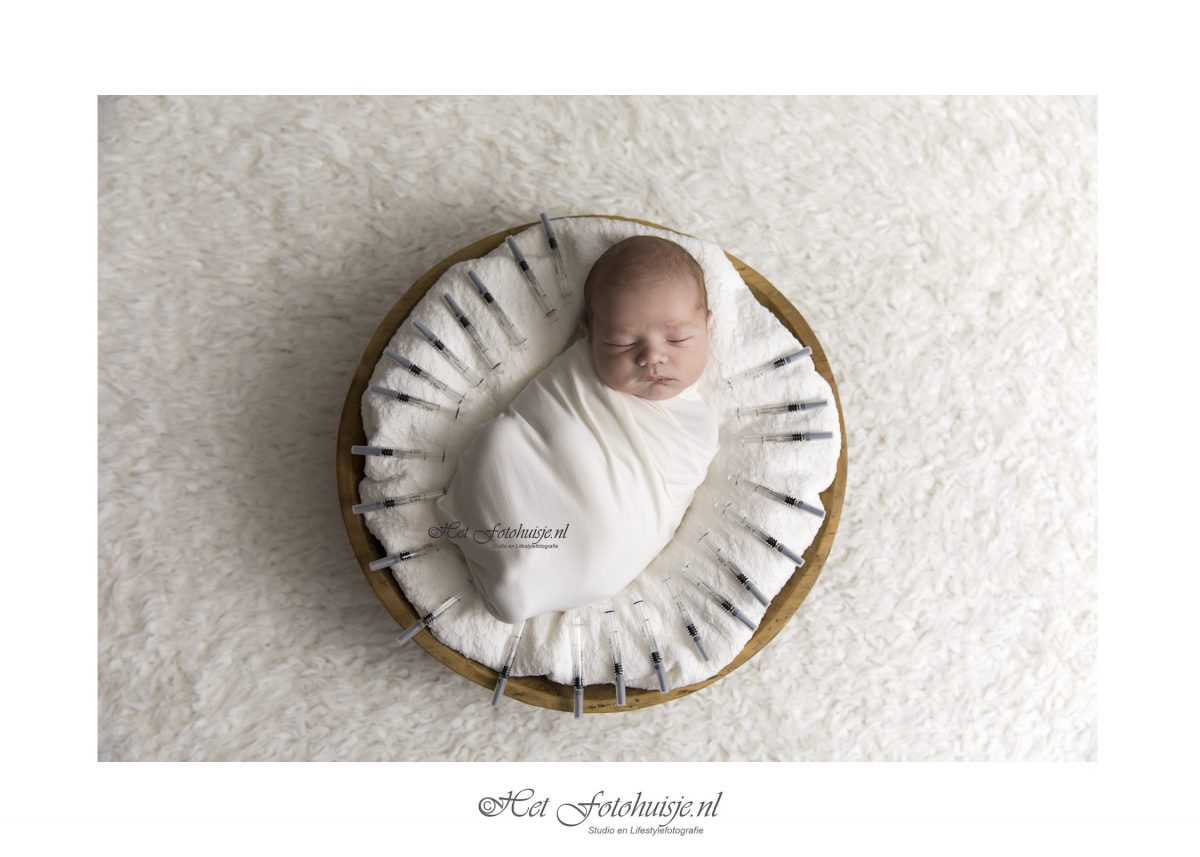Mooie Mason geboren met behulp van IVF