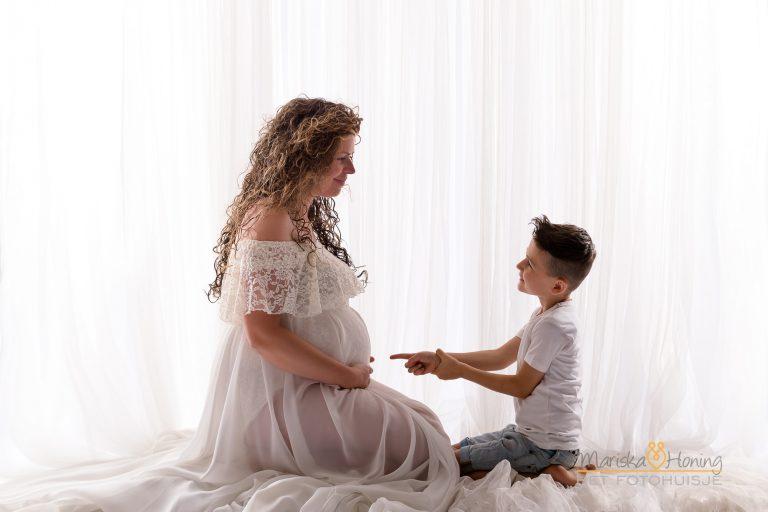 Zwangerschapshoot van Sanne