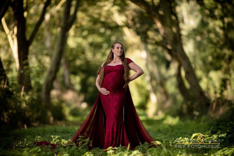 Zwangerschap shoot Shanna